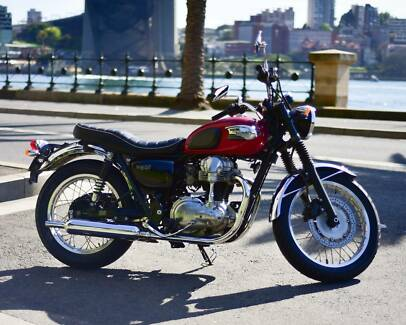 Kawasaki W400 - LAMS Stanmore Marrickville Area Preview