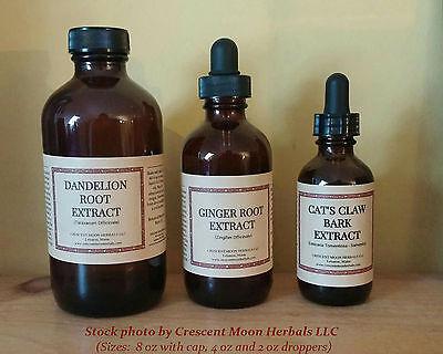 BURDOCK ROOT Liquid Herbal Extract Tincture, 2, 4, 8 oz, (Arctium Lappa) (Burdock Root Extract Liquid)