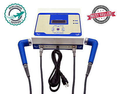 New 1 Mhz 3 Mhz Ultrasound Therapy Unit Physiotherapy Massager 13mhz Machine