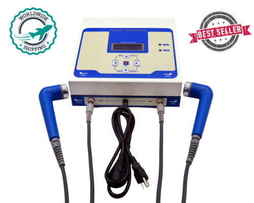 New 1 MHz & 3 MHz Ultrasound Therapy Unit Physiotherapy Massager 1&3MHz Machine