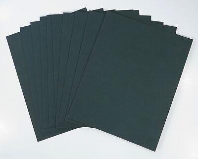 10 Each Paper Direct Plain Green Certificate Jacketfolder