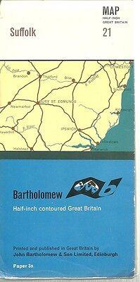 Suffolk Map - 1/2