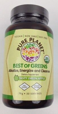 Pure Planet Best of Greens, Tasty Green Apple - Expires May (Pure Planet Green)