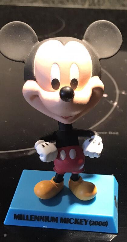 Millennium Mickey Mouse Bobble Head Upper Deck Entertainment  Disney