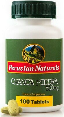 Organic Chanca Piedra 500mg - 100 Tablets