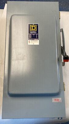 Square D Hu-264-a Safety Switch 200amp 600v Nos