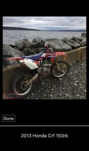 2013 Honda Crf 150rb