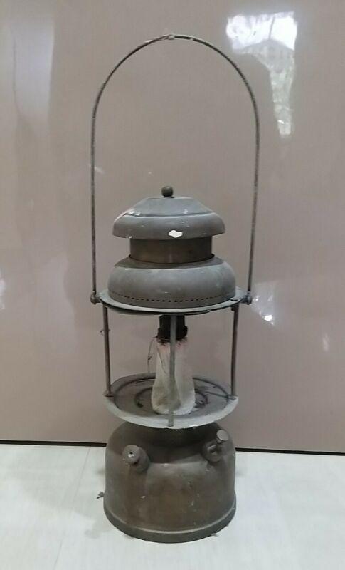 Old Hasag Vintage light oil kerosene Germany petromax brass lantern steam punk