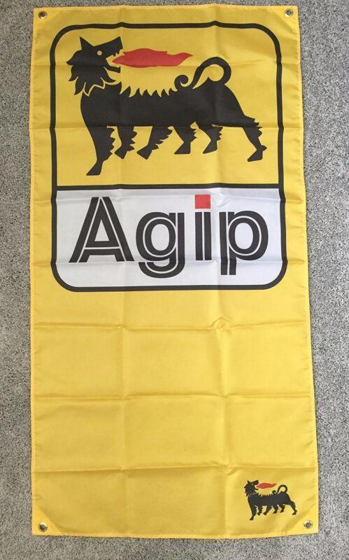 Agip Flag - bmw m3 m5 porsche 911 356 alpina quattro aprilia ducati moto guzzi