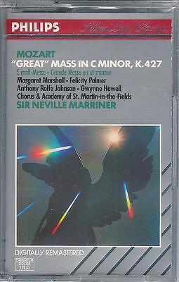 MOZART - Great Mass in C Minor, K.427 / Marriner, Neu, sealed Tape, PHILIPS ! !