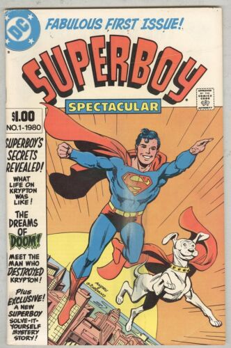 Superboy Spectacular #1 VG 1980 Giant-Size