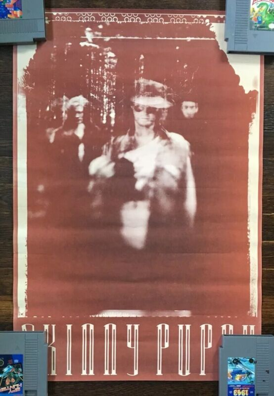 Vintage Skinny Puppy Poster Early 80s Promotional Promo RARE Unhung NOS Canada