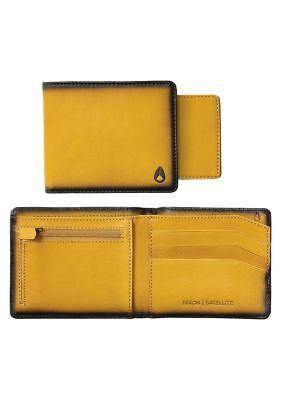 Nixon Satellite Big Bill Bi-Fold ID Coin Wallet (Wheat) ()