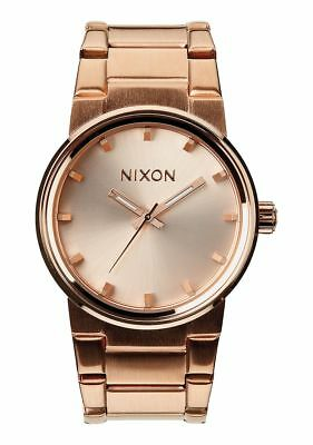 **BRAND NEW** NIXON CANNON ALL ROSE GOLD A160897 NIB! FREE SHIPPING IN USA!