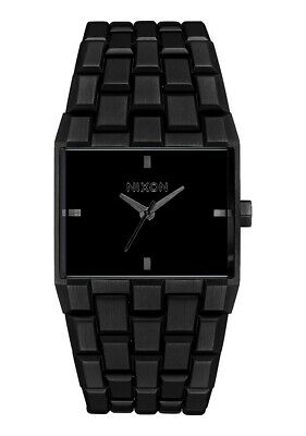 Nixon Women's Ticket A1262001-00 34mm Black Dial Stainless Steel Watch