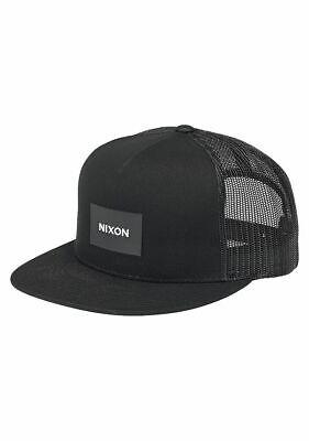- Nixon Team Trucker Snapback Hat Black