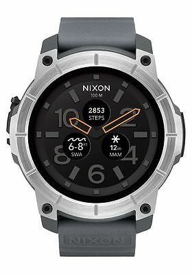 *BRAND NEW* Nixon Mission 48mm Android Wear Smartwatch - Concrete