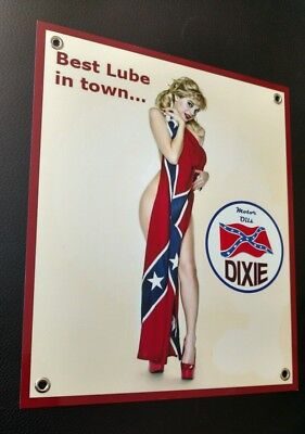 DIXIE Motor Oils Oil Gas gasoline sign ...design #3