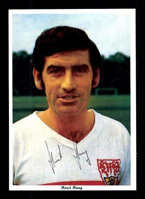 Horst Haug Autogrammkarte VFB Stuttgart Spieler 60er Jahre Original Signiert