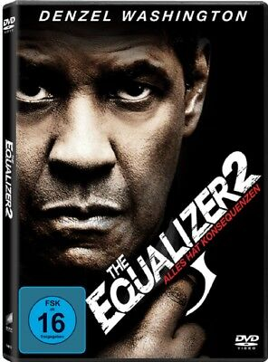 The Equalizer 2 DVD Neu und Originalverpackt Teil 2 Denzel Washington