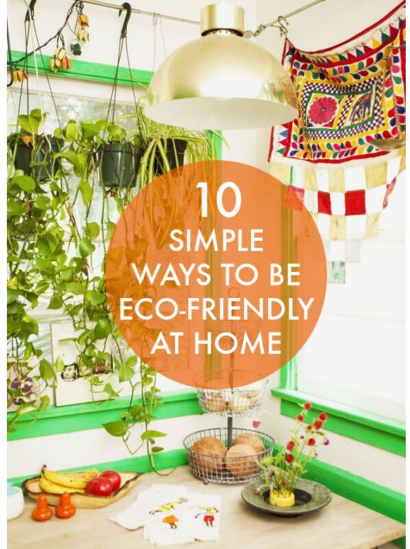 six simple ways to go green Easy ways to live greener green to go not brewing at home the advice still makes sense as does matching the pan size to the burner element a six-inch pan on an eight-inch electric burner, for instance.
