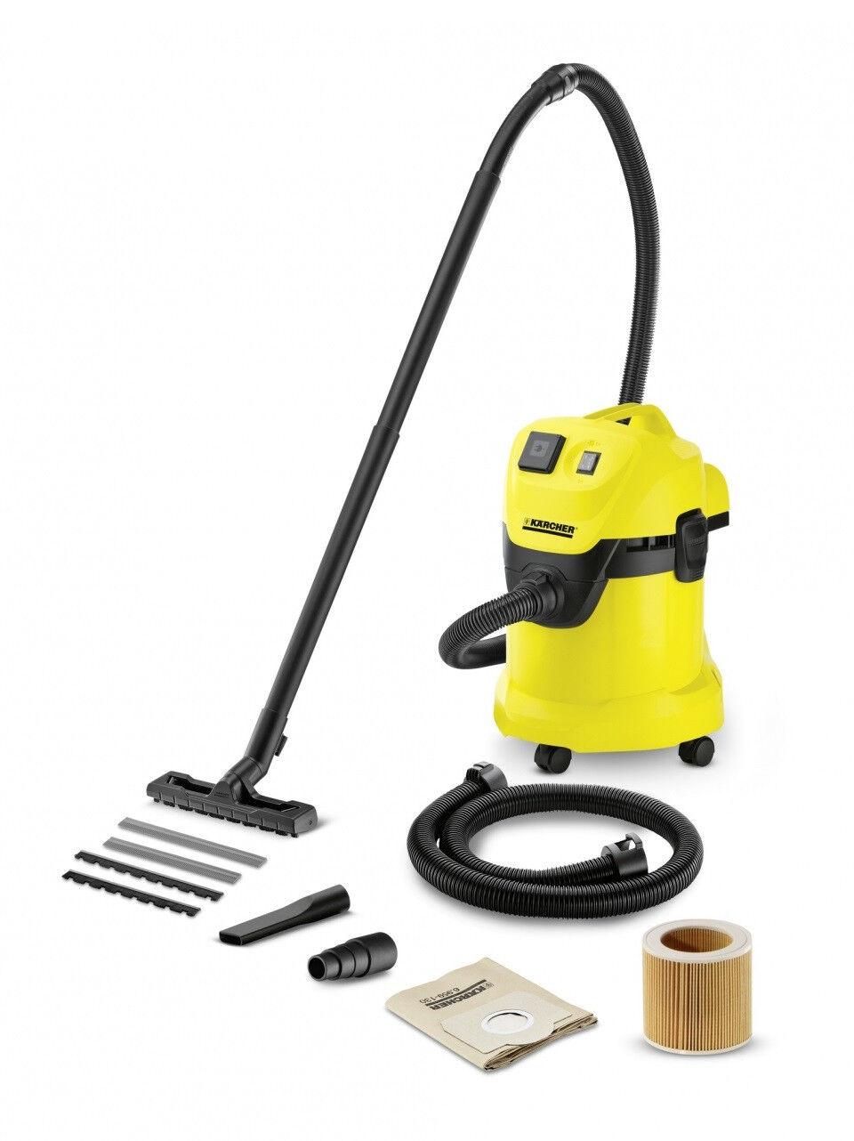 kärcher wd 3 p extension kit nass- trockensauger - gelb | ebay