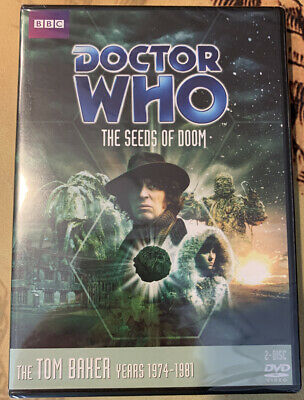 THE SEEDS OF DOOM - Doctor Who DVD Tom Baker Story 85 Season 13 R1