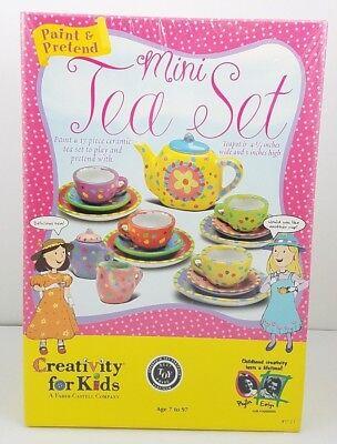 Paint And Pretend Mini Tea Set Creativity For Kids Best Toy Award Winner 2001