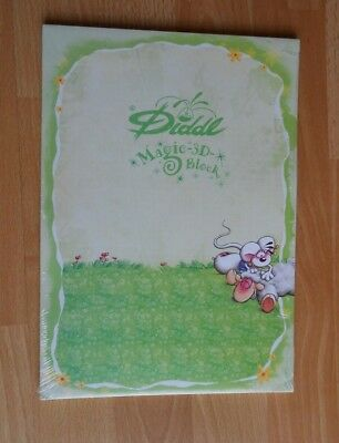 Diddl Block Notizblock A4 Nr. 115 Vanillivi-Krauler  - Magic-3-D-Block Neu/OVP