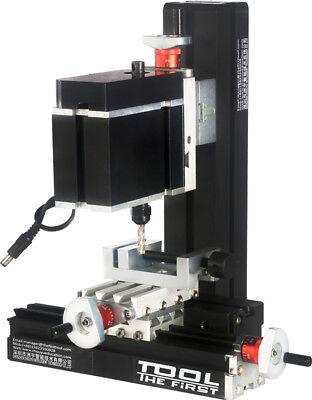 Zhouyu 60w Mini Metal Milling Machine Diy Power Tool Woodworking Modelmaking