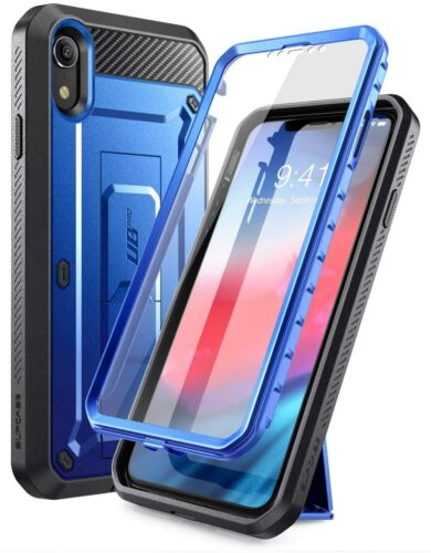 iPhone XR Case SUPCASE UBPRO Full-Body Rugged Cover Screen Protector Kickstand