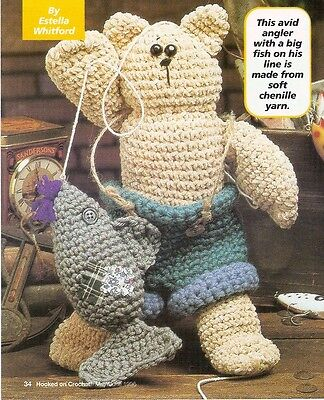 - CUTE Mighty Fisherman Doll/Toy/ Crochet Pattern INSTRUCTIONS ONLY