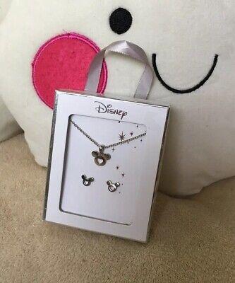 "Primark Disney ""Mickey Mouse"" Schmuck Ohrringe & Kette - Disney Mickey Ohren"