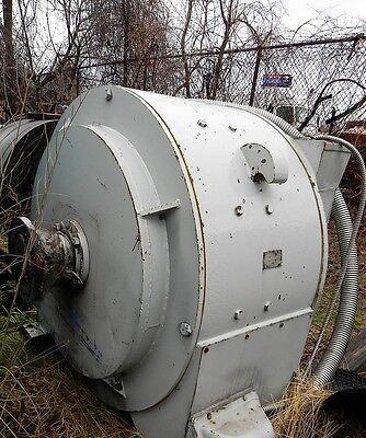 General Electric Erickson Equipment Co Inc Motor 500hp 500vdc 800amp Used.