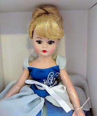 "Madame Alexander Cinderella Disney Showcase 10"" Doll Blue Ball Gown Birthday NEW"