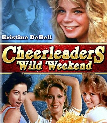 Cheerleader's Wild Weekend Blu_Ray NEW Code Red Kristine DeBell