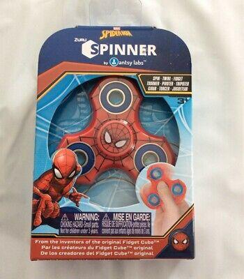 ZURU SPINNER Marvel SPIDERMAN SPIDER-MAN Fidget Twirl Antsy Labs NEW