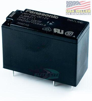 Panasonic Jw1fsn-dc12v Pcb Relay Miniature Spdt 10a 250vac 12vdc