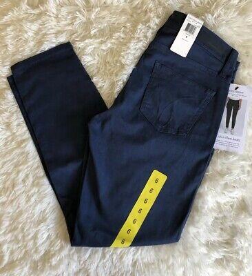 Calvin Klein Jeans Womens Ankle Skinny Pants Size 6 Dark (Skinny Jeans Dark Denim)