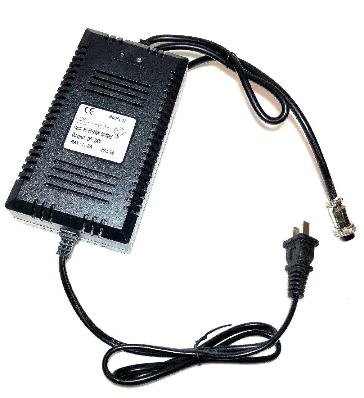 24V Battery Charger for Razor E200 E300 E500S Pocket Mod Swe