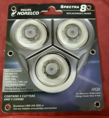 Norelco Razpor Replacement Heads 7000 Series Carded