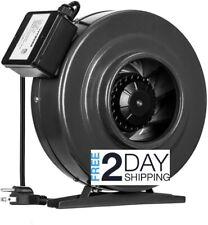 VIVOSUN 6 Inch 440 CFM Inline Duct Fan Vent Blower ...