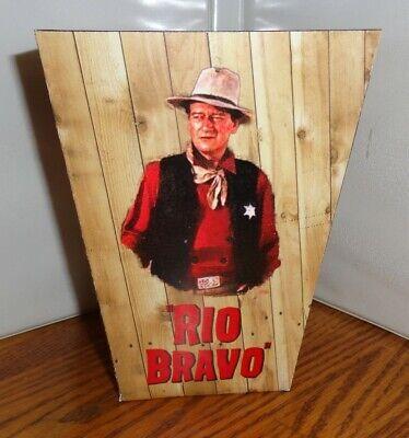 John Wayne Popcorn Box 4. Rio Bravo. Dean Martin Ricky Nelson....free Ship.