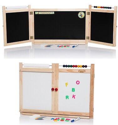 WANDTAFEL Kindertafel Schreibtafel Maltafel Magnettafel Papierrolle Abakus