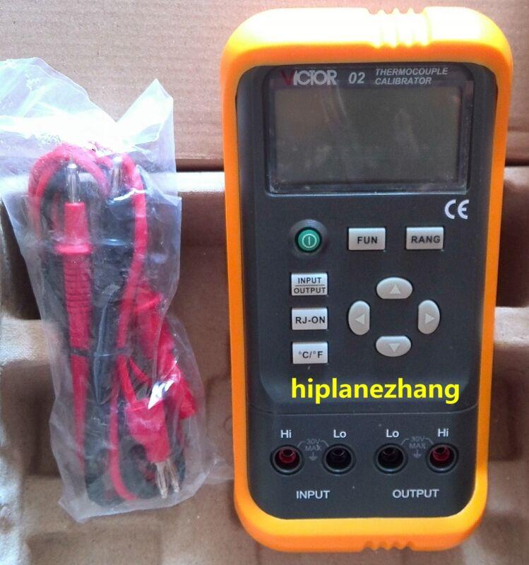 Hi-accuracy 0.05% Thermocouple Calibrator Output R S B E K J T N & DC -10mV-1.1V