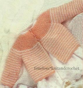 MATINEE JACKET KNITTING PATTERN FREE | FREE KNITTING PATTERN
