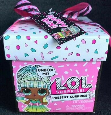 LOL PRESENT SURPRISE Gift Box Series Sister Birthday Month Party Doll In Hand