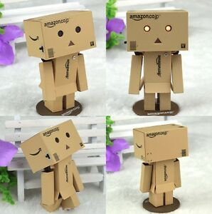 Revoltech-Cartoon-Danbo-Mini-Danboard-Amazon-Logo-Japan-Box-Action-Figure-Gift
