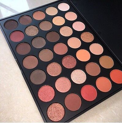 350 Nature Glow Morphe DUPE 35 Colour Pigmented eyeshadow palette Best DUPE!