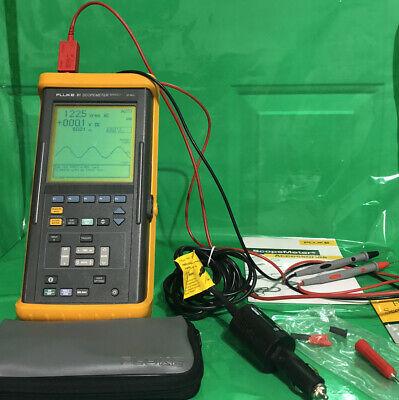 Fluke 91 Scopemeter Series Ii 50mhz Handheld Oscilloscope Excellent Condition